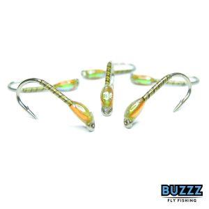 Golden Olive Quill Buzzer
