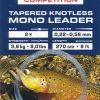 Hanak knotless tapered leader