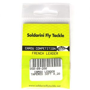 Soldarini Camou French Leader (30ft, 0.55-0.2mm)